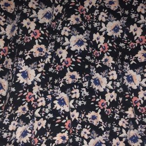 Charlotte Russe Skirts - Floral high waisted skirt